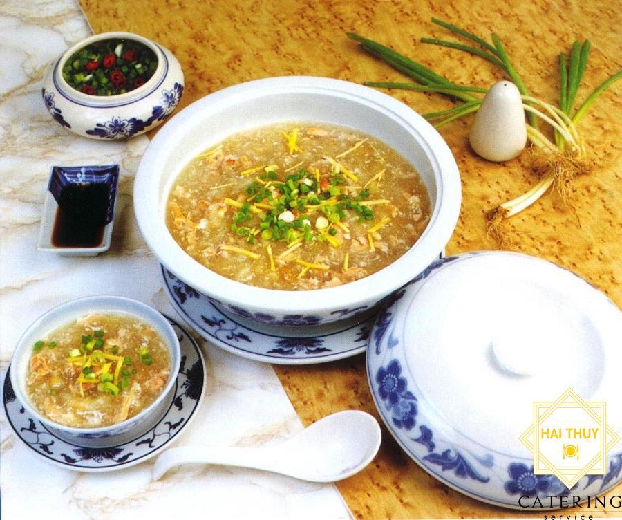 Soup cua gà xé