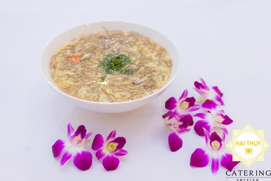 Soup tóc tiên hải sản
