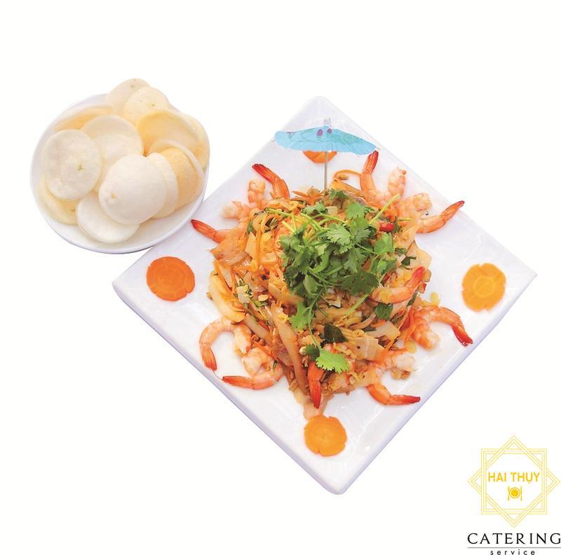 Gỏi hải sản hương dừa Hai Thụy