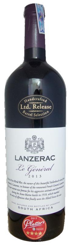 Lanzerac Le General 2013 (Nam Phi)