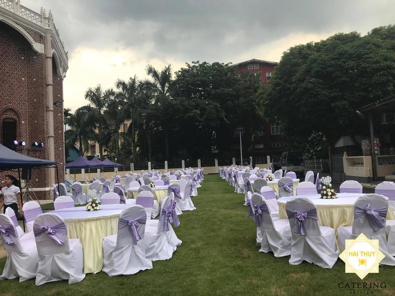 Hình ảnh tiệc ngoài trời - outside catering