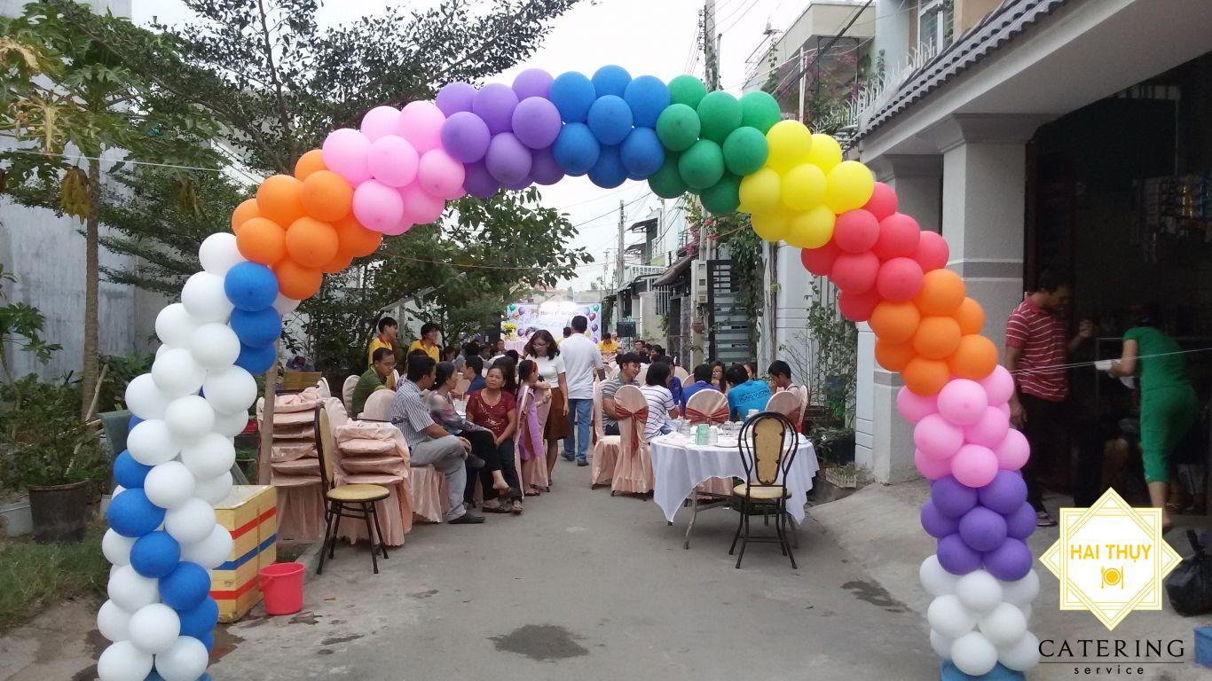 Dịch vụ tổ chức tiệc thôi nôi tại nhà đảm bảo phục vụ nhanh chóng ở Huyện Hóc Môn
