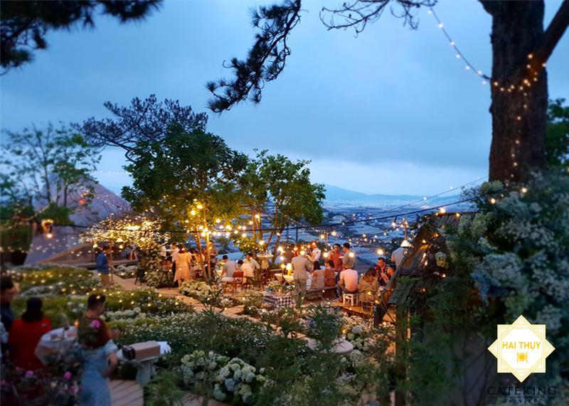 Đà Lạt - Thiên đường lí tưởng cho tiệc cưới ngoài trời