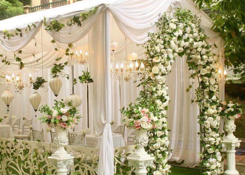 Những điều bạn không thể bỏ qua khi tổ chức tiệc cưới tại nhà