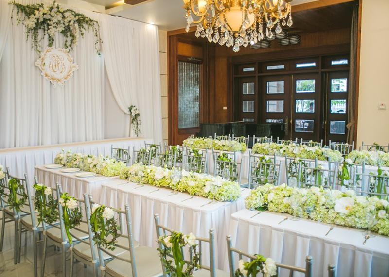 Bỏ túi những kinh nghiệm trang trí tiệc cưới tại nhà