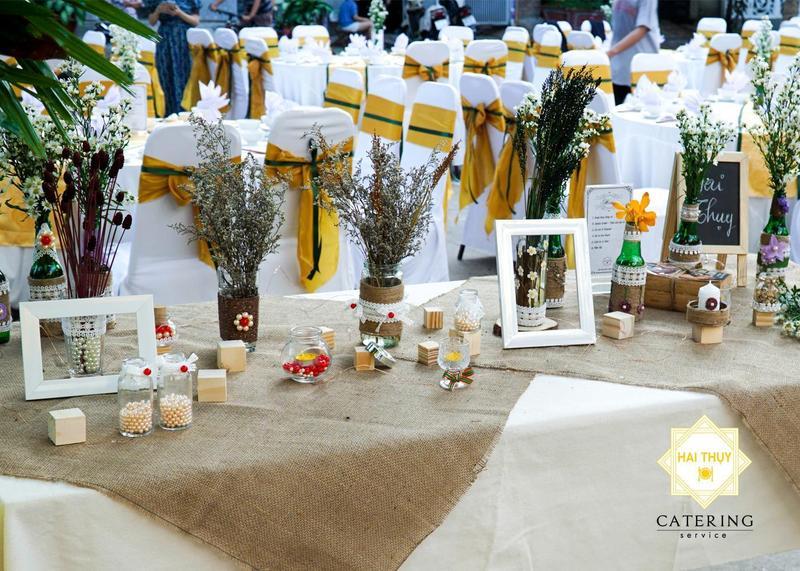 Trang trí tiệc cưới - Vẻ đẹp