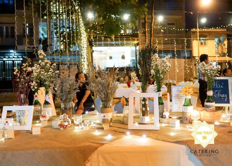 """Dịch vụ đặt tiệc cưới - Vén bức màn """"hoàn hảo"""" cho hôn lễ"""