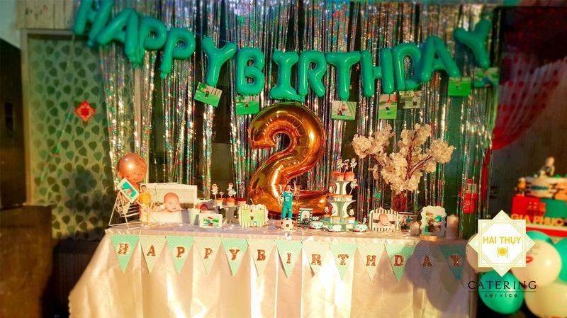Tổ chức tiệc sinh nhật cho bé Gia Phúc tại quận 7