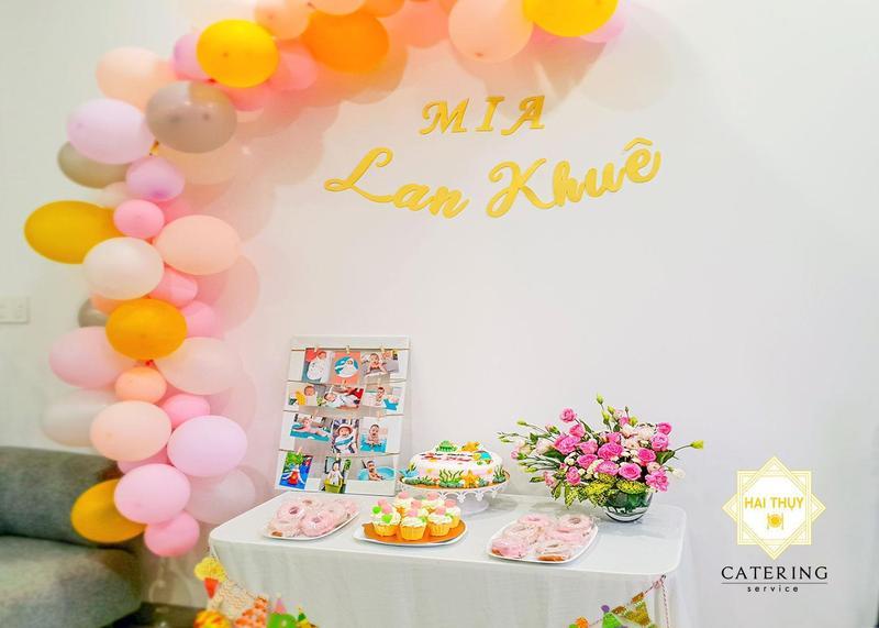 Tổ chức sinh nhật cho bé Mia - Lan Khuê, Quận 9