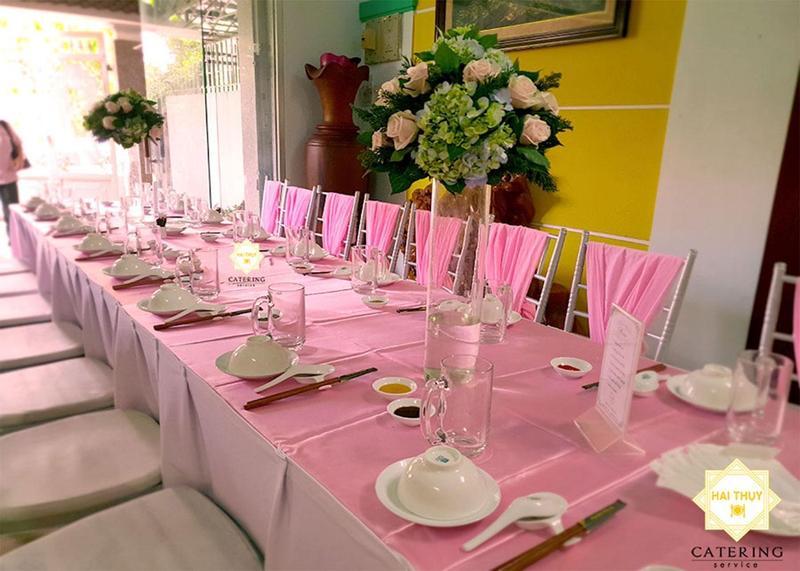Tiệc sinh nhật cho bé Thảo Nguyên – Dịch vụ nấu tiệc quận 9