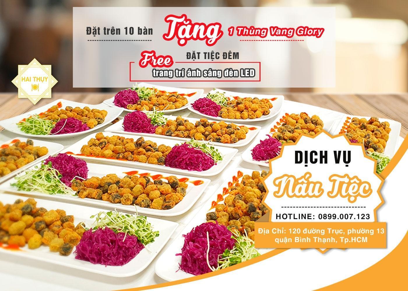 """Khó có thể """"chối từ"""" những điều tốt nhất với dịch vụ nấu tiệc Hai Thụy Catering"""