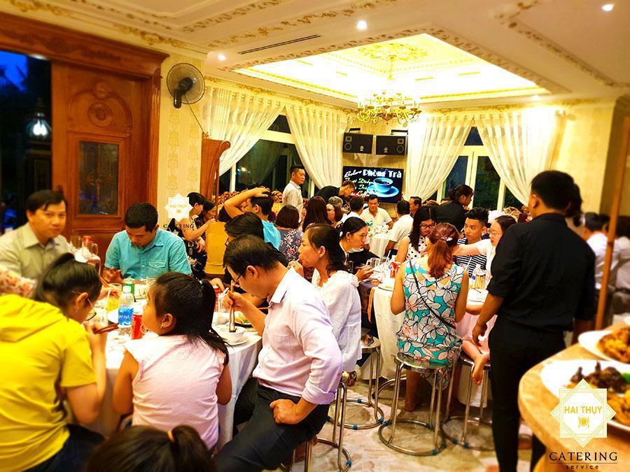 Buổi tiệc tại nhà sang trọng tại quận 7