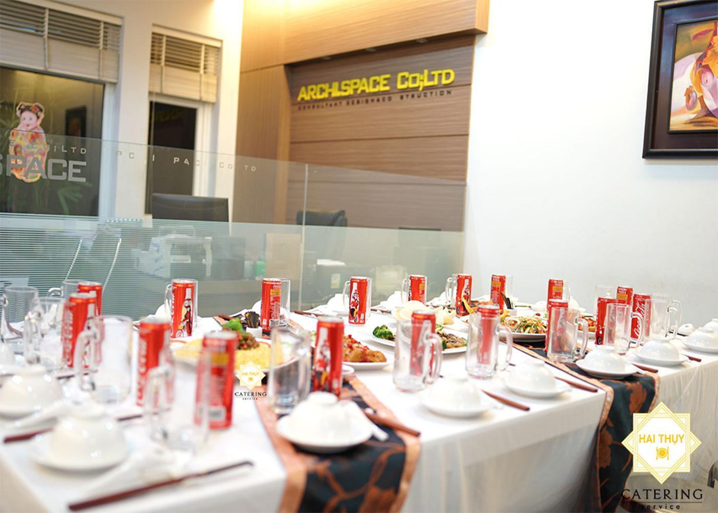 Tiệc liên hoan tại công ty Không Gian Kiến Trúc ARCHI SPACE CO.,LTD