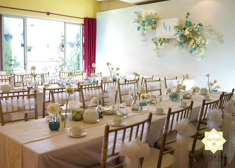 Tiệc đám cưới của chú rể Bảo Quân và cô dâu Thảo Ly – Hai Thụy Catering