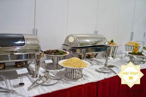 Tiệc buffet tại công ty Neon - Quận 2