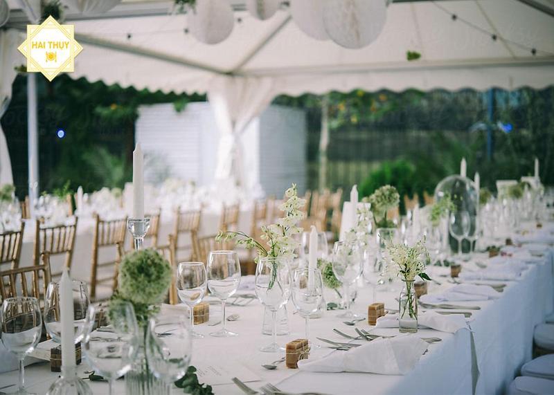 Dịch vụ tổ chức tiệc đính hôn Hai Thụy Catering- Điểm 10 cho sự lựa chọn của bạn