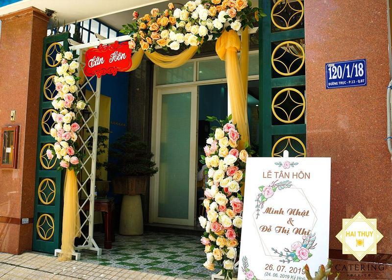 Tổ chức tiệc tân hôn tại nhà cho đôi bạn Minh Nhật - Đỗ Nhi