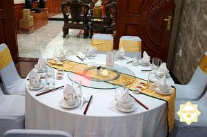 Hình ảnh tiệc tân gia tại nhà do đội ngũ Hai Thuy Catering tổ chức