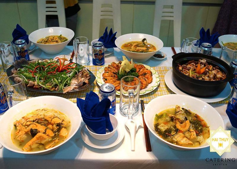 Sở hữu trọn vẹn sự an yên với bữa tiệc gia đình cùng Hai Thụy Catering