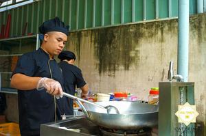 Đội ngũ đầu bếp chuyên nghiệp