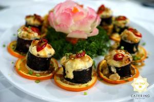 sushi cambridge cho thực đơn tiệc tại nhà thêm phần sang trọng và đẳng cấp