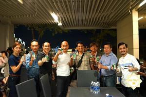 Buổi tiệc tiếp đãi đoàn du lịch Thái Lan sang Việt Nam tại khu đô thị Sala