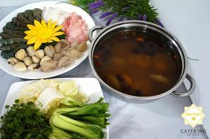 Món Lẩu hải sản hương lê