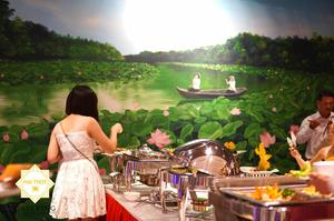 Tận hưởng sự đẳng cấp với dịch vụ đặt tiệc buffet Hai Thụy catering