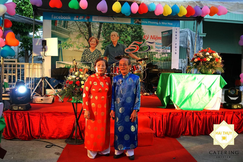 Kỷ niệm 55 năm ngày cưới của cô Như Hoa và chú Hữu Phương