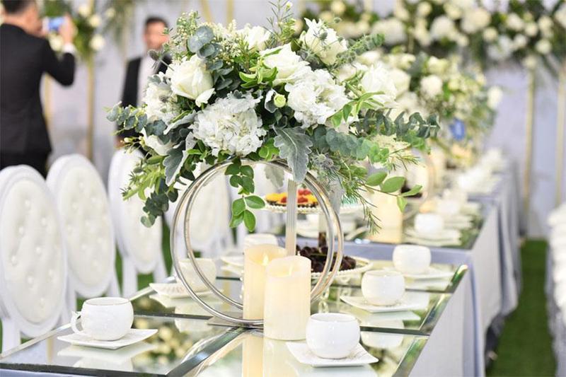 Ngày trọng đại ý nghĩa với dịch vụ đặt tiệc đính hôn quận 1 Hai Thụy Catering