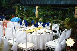 Một bàn tiệc được Hai Thụy Catering trau chuốt