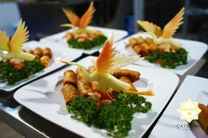Từ chất lượng nguyên vật liệu đến trang trí sắp xếp món ăn thật hài hòa và đẹp mắt