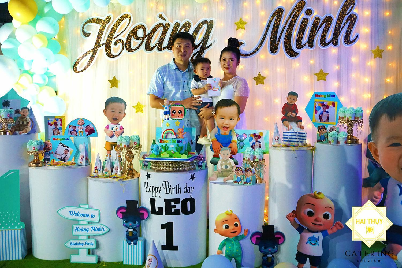 Hai Thụy Catering | Đẳng cấp với dịch vụ tổ chức tiệc thôi nôi quận Gò Vấp cho bé Leo - Hoàng Minh