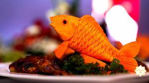 Những món ăn được Hai Thụy Catering mang đến cho bữa tiệc rất đẹp mắt và ngon miệng