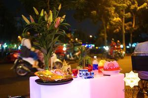 Đong đầy ý nghĩa khi tổ chức tiệc buffet khai trương quán Beer Coffee và mừng sinh nhật bé Cẩm Loan