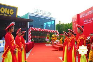 Vẹn toàn cùng Hai Thụy Catering tổ chức tiệc buffet khai trương BĐS Minland