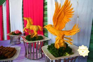 Hình thức tổ chức tiệc buffet là hình thức được khách hàng tin tưởng lựa chọn nhiều nhất.