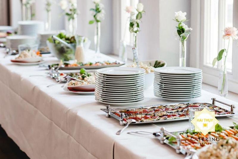 Điểm danh những tiện ích khi tổ chức tiệc buffet lưu động  - Hai Thụy Catering