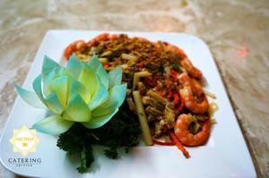 Gỏi ngó sen tôm thịt - Với sự tươi mới của rau, củ, quả một cách tuyệt đối