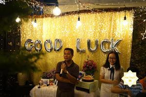 Mừng con du học Mỹ - Ấm cúng với bữa tiệc liên hoan quận Phú Nhuận