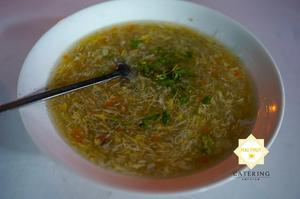 Soup tôm cua trứng cút lộn ấm lòng cho món khai tiệc