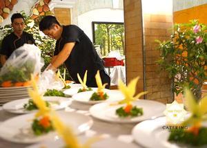 Những đầu bếp giàu kinh nghiệm, tận tâm với nghề của Hai Thụy Catering