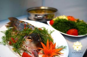 5. Lẩu riêu cá chép nóng hổi, ngọt nước