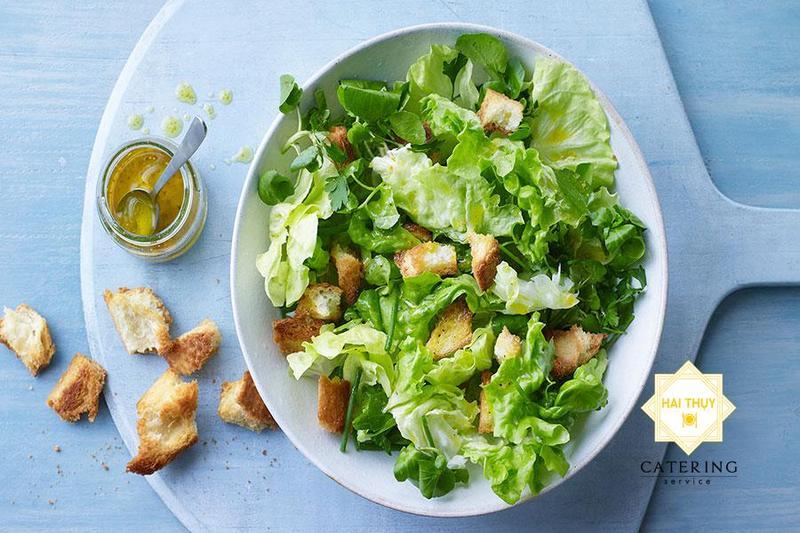 Điểm mặt các món salad trộn khai vịhấp dẫn cùng dịch vụ nấu tiệc tại nhà