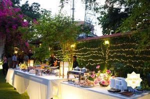Vào chiều 27/02/2020, Hai Thụy Catering có mặt trong bữa tiệc buffet tại biệt thự sân vườn - Quận 2