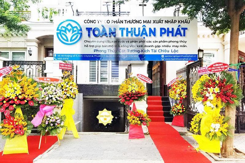 Tiệc buffet khai trương tại khu dân cư cityland phường 7 quận Gò Vấp