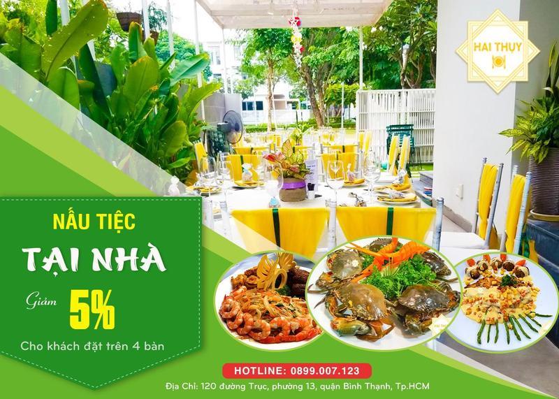 Tiết kiệm ngay 30% chi phí với dịch vụ nấu tiệc tại nhà hoàn hảo