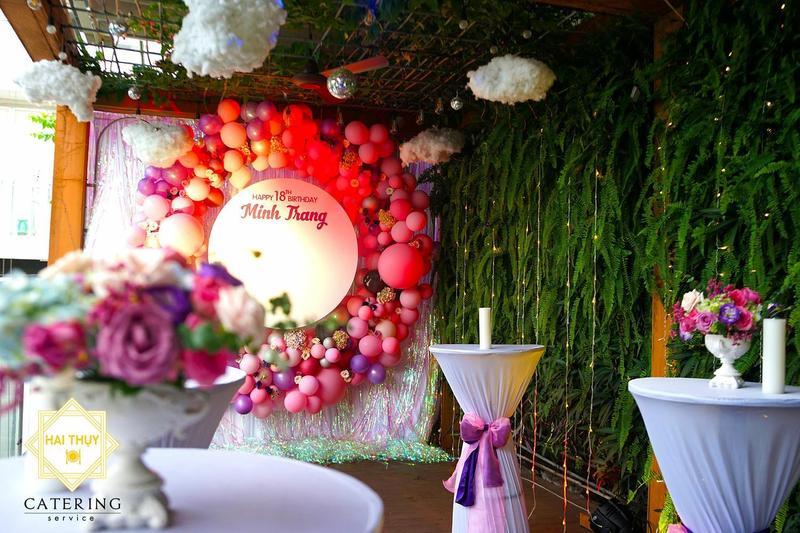 Sang trọng với tiệc buffet trong sự kiện sinh nhật - Hai Thụy Catering